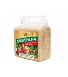 Drevovlna pod jahody, uhorky, cukety - 100 % prírodný produkt - 850 g
