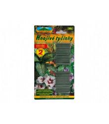 Tyčinkové hnojivo pre izbové a balkónové rastliny - Nohel Garden - 50 ks