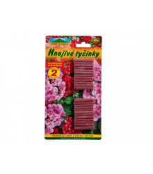 Tyčinkové hnojivo na muškáty - 48 Ks - 1 balenie