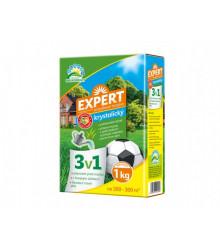 EXPERT trávnikové hnojivo 3 v 1 - 1 kg