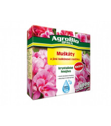 Kryštalické hnojivo Muškáty - 400 g - AgroBio