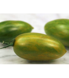 Paradajka Artisan Green Tiger - Kolíková - Predaj semien paradajok - Lycopersicon esculentum - 5 ks