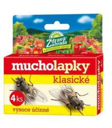 Mucholapky Klasické - 4 Ks