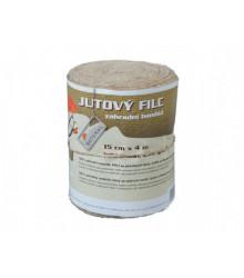 Jutový filc - balenie 15cm x 4m - Záhradná bandáž