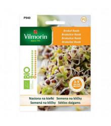 Bio semená na klíčky - Brokolica Raab - semená - 10 g