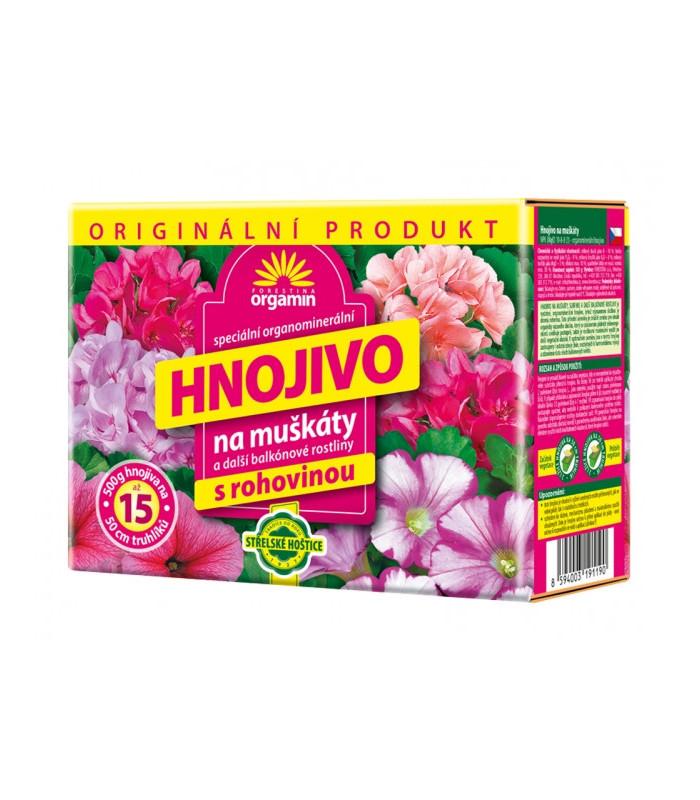 Hnojivo AG Biomin na muškáty - 500 g