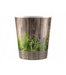 Obal na kvetináč na bylinky - HERBS - 14 x 16 cm - 1 ks
