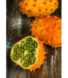 Kiwano - africký melón - Cucumis metuliferus - semiačka - 8 ks