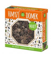 Domček pre hmyz malý - domček pre lienky, zlatoočká a chrobáčikov - 1 ks