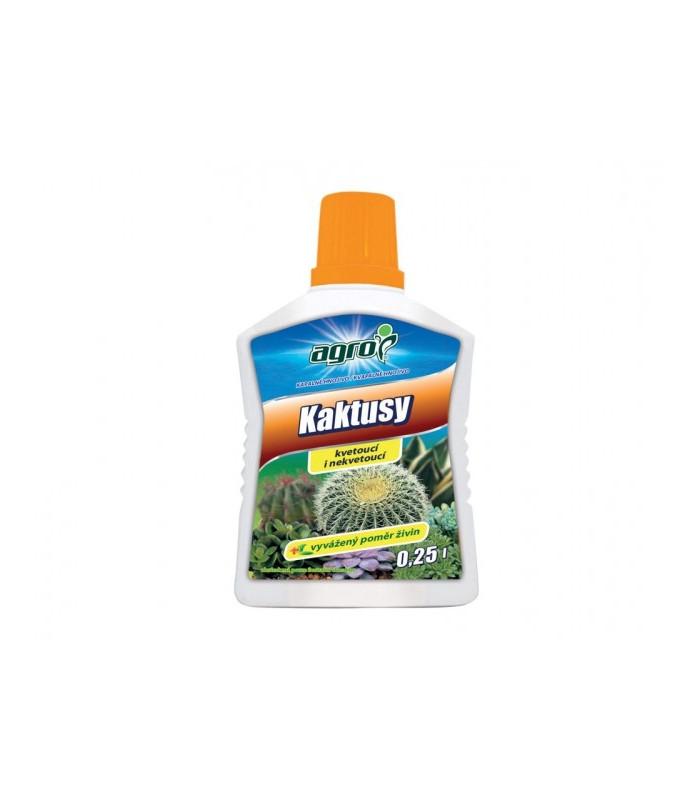 Tekuté hnojivo pre kaktusy a sukulenty - 0,25 l