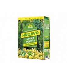 Hnojivo AG Biomin na tuje a cyprušteky - 1 kg