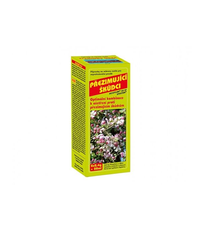 Prípravok proti prezimujúcim škodcom - 2x2,4g+20 ml
