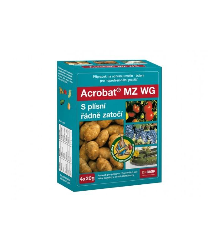 Prípravok proti plesniam - Acrobat - 4x20 g