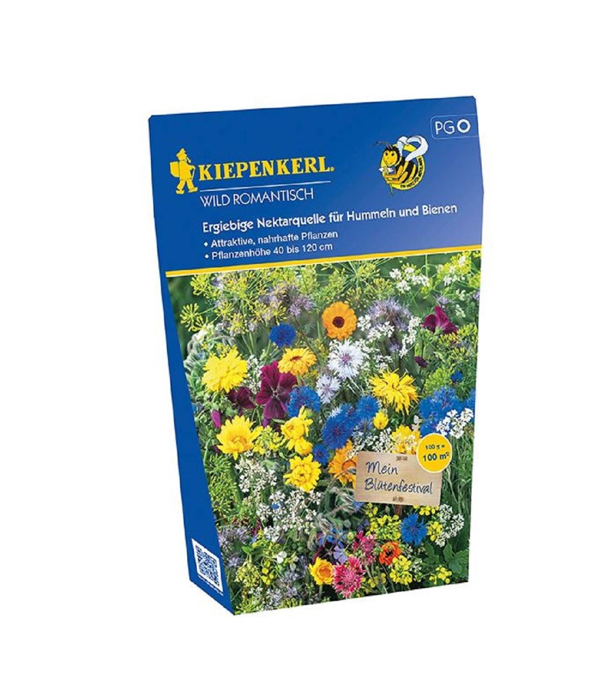 Kvetinová zmes Wild Romantisch - predaj lúčnych semien - 100 g