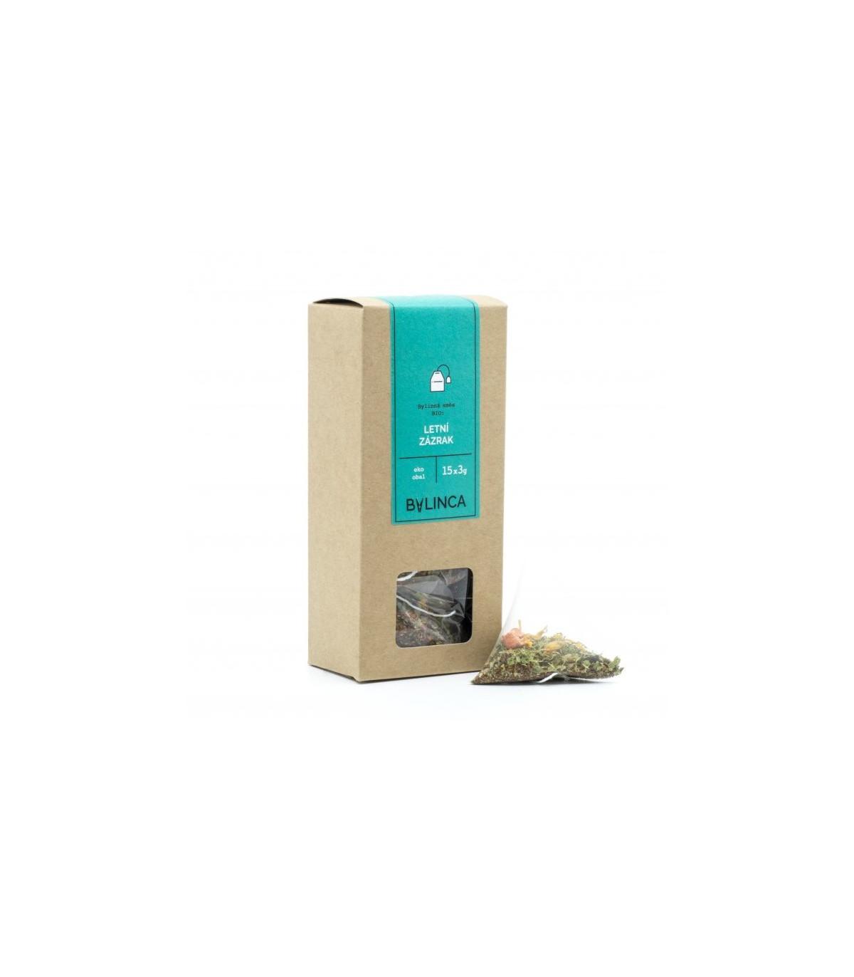 Letný zázrak - predaj bylinkových čajov - 15 x 3 g