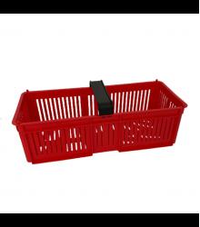Košík na drobné plody - plastový - 1ks
